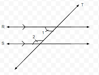 Definition: If Two Parallel Lines Are Cut By A Transversal, Then The Two  Pairs Of Same Side Interior Angles Are Supplementary.